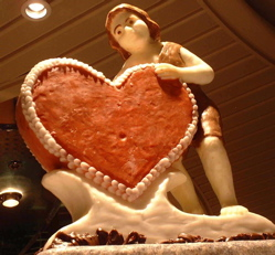 chocolate heart from 2002 cruise